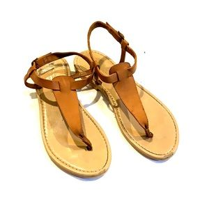 Niccolo Vacai Italian leather flat sandals